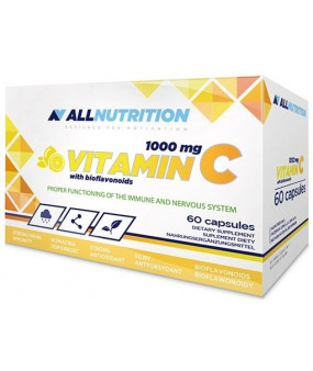 Allnutrition Vitamin C with Bioflavonoids, 1000mg - 60 caps