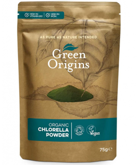 Green Origins Organic Chlorella Powder - 75 gr