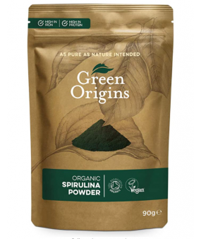 Green Origins Organic Spirulina Powder - 90 grams