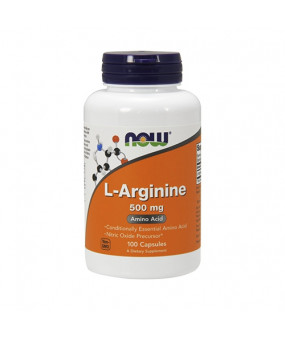 Now Foods L-Arginine 500mg (100) Arginiin