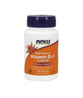 Now Foods Vitamin D3 2000IU (120)