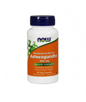Now Foods Ashwagandha 450mg (90 Caps)