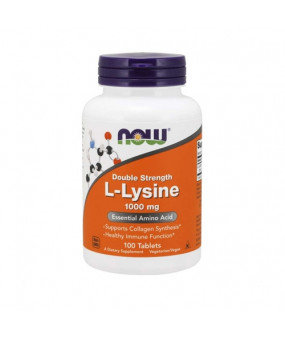 Now Foods L-Lysine 1000mg (100 Tabs)