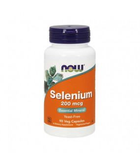 Now Foods Selenium 200mcg (90 Caps) Селен