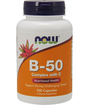 Now Foods Vitamiin B-50 50mg, N100
