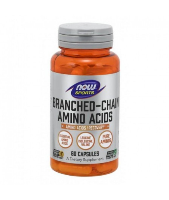 Now Foods BCAA aminohapped, N60