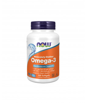 Now Foods Omega-3, Oomega-3 1000mg, N100