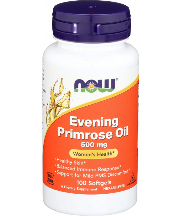 Now Foods, Evening Primrose Oil, 500 mg, 120 Softgels