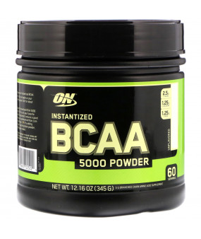 Optimum Nutrition BCAA 5000MG Powder 324g